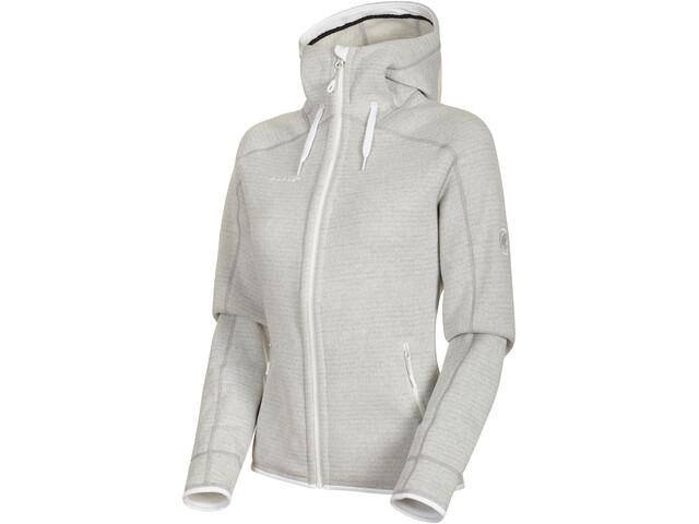 Mammut Arctic ML Hooded Jacket Damen bright white-highway melange